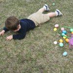 Ostereier suchen - Kinder in Muchow